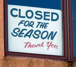 closed-season